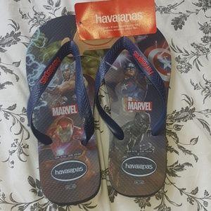 Marvels Avengers super hero Havaianas